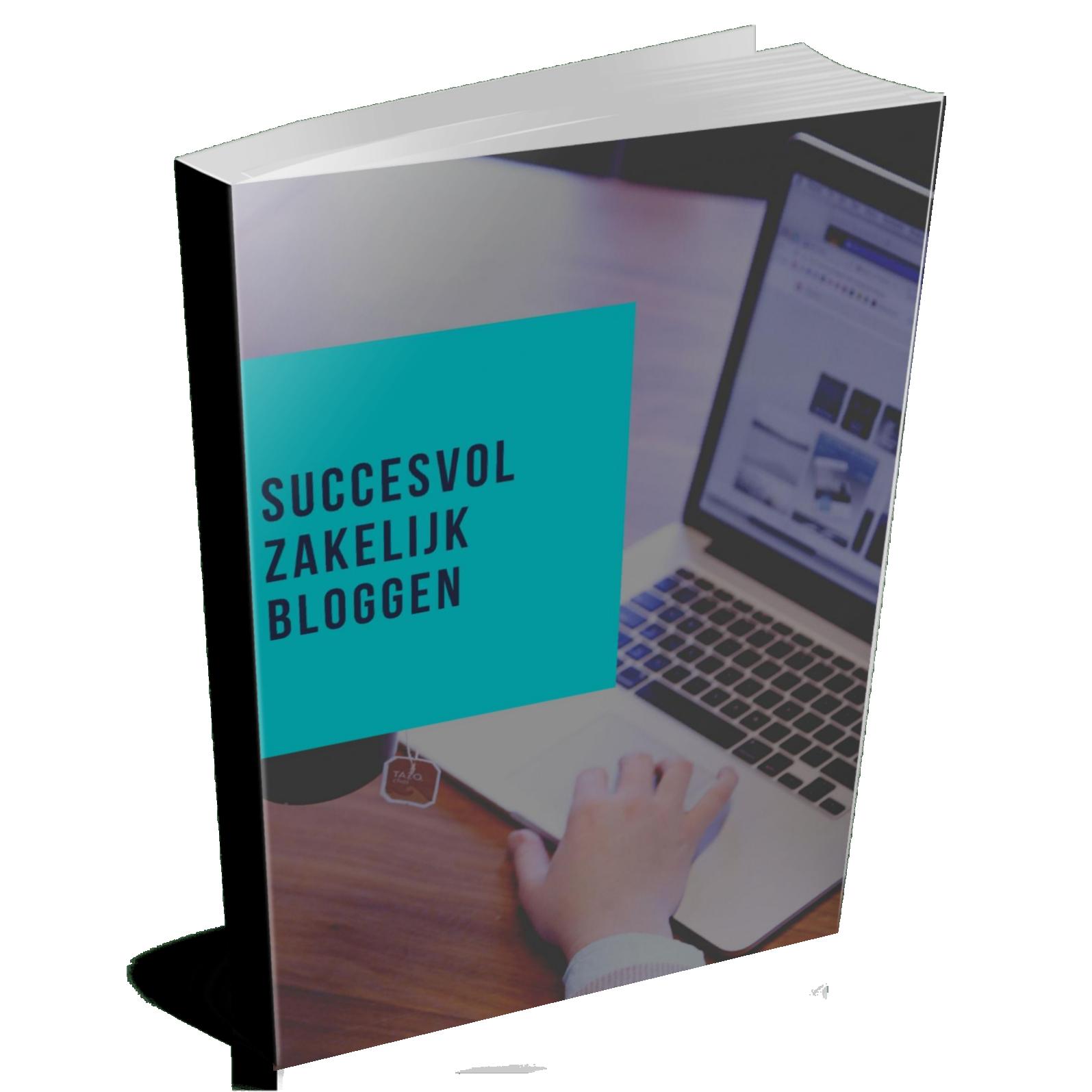 E-book Succesvol Zakelijk Bloggen